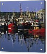 Ardglass, Co Down, Ireland Fishing Acrylic Print by The Irish Image Collection