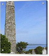 Ardmore Round Tower - Ireland Acrylic Print by Mike McGlothlen