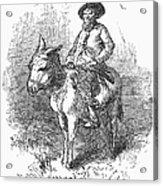 Arkansas Traveler, 1878 Acrylic Print by Granger