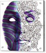 Artificial Intelligence Acrylic Print by Neal Grundy