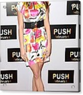 Ashley Greene At Arrivals For Push Acrylic Print by Everett