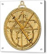 Astrolabe, Historical Artwork Acrylic Print by Detlev Van Ravenswaay