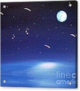 August Celestial Trinity Acrylic Print by Alys Caviness-Gober