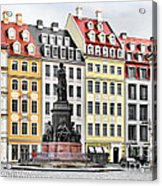 Augustus II The Strong -  A Legend Lives On In Dresden Acrylic Print by Christine Till