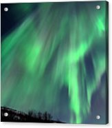 Aurora Borealis Corona Acrylic Print by John Hemmingsen