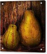 Autumn - Gourd - A Pair Of Squash  Acrylic Print by Mike Savad