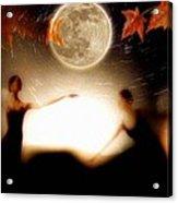 Autumn Moon Dance Acrylic Print by Gun Legler