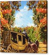 Autumn's Essence Acrylic Print by Lourry Legarde