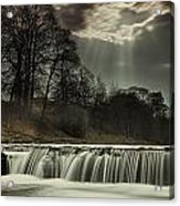 Aysgarth Falls Yorkshire England Acrylic Print by John Short