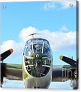 B-25j Killer B Acrylic Print by Lynda Dawson-Youngclaus