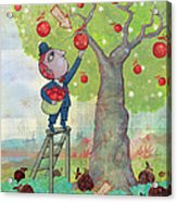 Bad Apples Good Apples Acrylic Print by Dennis Wunsch