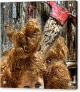 Bad Hair Day Acrylic Print by JC Findley