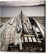 Badentarbet Bay The Coigach Scotland Acrylic Print by John Potter