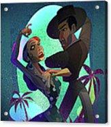 Baile De Amor Acrylic Print by Nelson Dedos Garcia