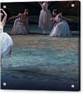 Ballerinas At The Vaganova Academy Acrylic Print by Richard Nowitz