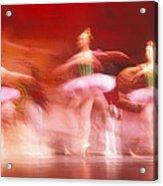 Ballet Dancers Acrylic Print by John Wong