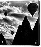 Ballons - 2 Acrylic Print by Okan YILMAZ