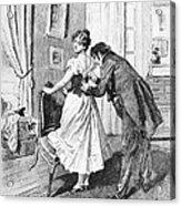 Balzac: Cousin Bette Acrylic Print by Granger