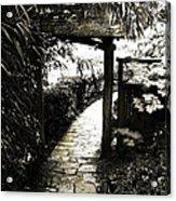 Bamboo Garden - 1 Acrylic Print by Alan Hausenflock