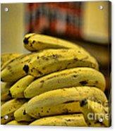 Bananas Acrylic Print by Paul Ward