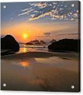 Bandon Scenic Acrylic Print by Jean Noren