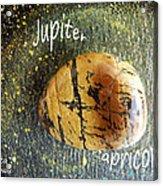 Barack Obama Jupiter Acrylic Print by Augusta Stylianou