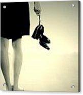 Barefoot Acrylic Print by Joana Kruse