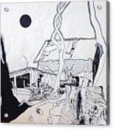 Barn 4 Acrylic Print by Rod Ismay