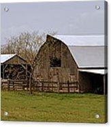 Barn In The Ozarks Acrylic Print by Marty Koch