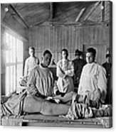 Base Hospital In World War I Acrylic Print by Usa National Library Of Medicine