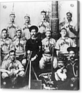 Baseball Team, C1898 Acrylic Print by Granger