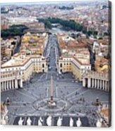 Basilica Di San Pietro Acrylic Print by Deborah Lynn Guber