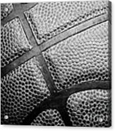 Basketball -black And White Acrylic Print by Ben Haslam