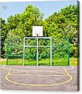 Basketball Court Acrylic Print by Tom Gowanlock