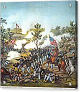 Battle Of Atlanta, 1864 Acrylic Print by Granger