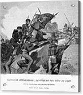 Battle Of Churubusco, 1847 Acrylic Print by Granger