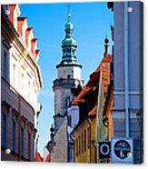 Bavarian Corridor  Acrylic Print by Anthony Citro