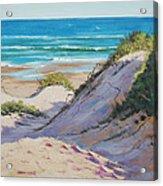 Beach Dunes Acrylic Print by Graham Gercken