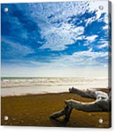 Beach Acrylic Print by Nawarat Namphon