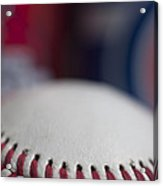 Beer And Baseball Acrylic Print by Alan Look