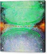 Between Red Dots Acrylic Print by Lolita Bronzini