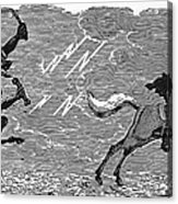 Bewick: Devil Acrylic Print by Granger