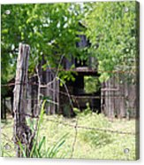 Beyond The Post Acrylic Print by Lisa Moore