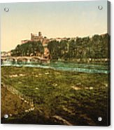 Beziers - France Acrylic Print by International  Images