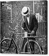 Bicycle Radio Antenna, 1914 Acrylic Print by