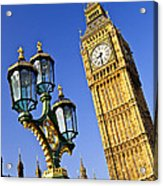 Big Ben And Palace Of Westminster Acrylic Print by Elena Elisseeva