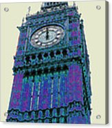 Big Blue Ben Acrylic Print by Beth Saffer