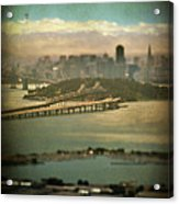 Big City Dreams Acrylic Print by Laurie Search
