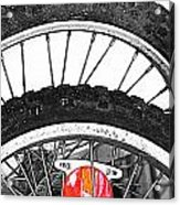 Big Wheels Keep On Turning Acrylic Print by JC Photography and Art