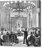 Black Convention, 1876 Acrylic Print by Granger